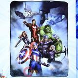 Marvel Avengers with Loki Fleece Blanket  Microfiber Plush Throw (45 x60 )