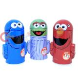 Sesame Street Metal Coin Bank 3pc  Set - Elmo Cookie Monster Oscar