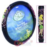 Disney Tinkerbell Fairies Car Auto Steering Wheel Cover -Optic Tink
