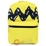 """Peanuts Charlie Brown Large School Backpack 16"""" Book Bag"""