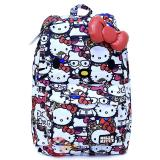 Sanrio Hello Kitty Face School Backpack with 3D Bow and Ears - All Stars