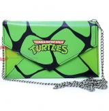 TMNT Ninja Turtles Envelope Wallet with Shoulder Chain