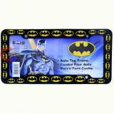 DC Comics Batman Logo Car License Plate Frame