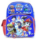 "Nickelodeon Paw Patrol  Medium School Backpack 12"" Boys Bag Ready Action"