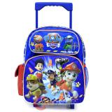 "Nickelodeon Paw Patrol Roller Backpack 12"" Toddler Small Bag - Ready Action"