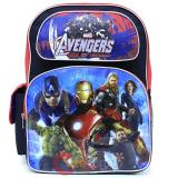 "Marvel Avengers Age of Ultron Large School Backpack 16"" Boys Book Bag"