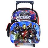 "Marvel Avengers Age of Ultron School Roller Backpack 12"" Toddler Small Bag"