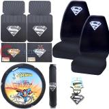 Super ManCar Seat Covers Accessories Compleate 8pc Set