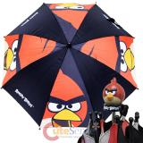 Rovio Angry Birds Kids Umbrella with 3D Figure Handles