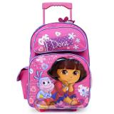 Dora The Explorer Dora & Boots Large Roller Backpack -Lovely Flowers
