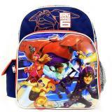 "Disney Big Hero 6 Medium School Backpack 12"" Boys Bag -City"