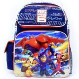 "Disney Big Hero 6 Large School Backpack 16"" Book  Bag - City"