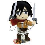 Attack on Titan Mikasa Plush Doll  Stuffed Toy GE52562