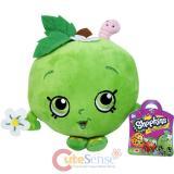 "Shopkins Apple BlossomPlush Doll 6"" Deluxe Toy New Season 1 Shopkin"
