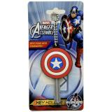 Marvel  Captain America Shield Key Cap Key Holder