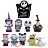 Nightmare Before Christmas 9pc Figural Eraser Set