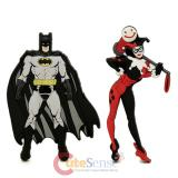 DC Comics Batman Harley Quinn Soft Touch PVC Magnet - 2pc Set