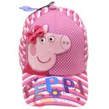 Peppa Pig Kids Baseball Hat Cap with Bow