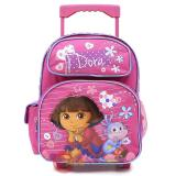 Dora The Explorer with Boots Roller Backpack 12in Pink