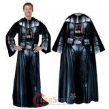 Lucas Star Wars Darth Vader Cozy Fleece  Blanket with Sleeves : Adult Size