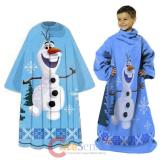 Disney Frozen Olaf Throw Blanket with Sleeves - Made Of Snow Kids Size