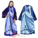 Disney Princess Cinderella Throw Blanket with Sleeves - Kids Size