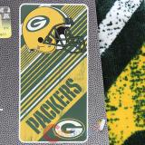 NFL Green Bay Packers  Beach  Towel  Bath Towel -Diagonal Logo
