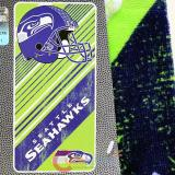 NFL Seattle Seahawks  Beach  Towel  Bath Towel -Diagonal Logo