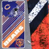 NFL Chicago Bears  Beach  Towel  Bath Towel -Diagonal Logo