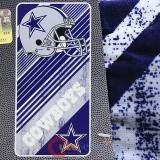 NFL Dallas Cowboys Beach  Towel  Bath Towel -Diagonal Logo