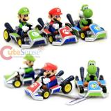 Nintendo Super Mario Kart Diecast Collection set of 3 (Mario , Luigi, Yoshi)
