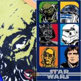 Lucas Star Wars Beach Towel Bath Towel - Star Wars Collage