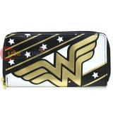 DC Comics Wonder Woman Large Zip Around Wallet