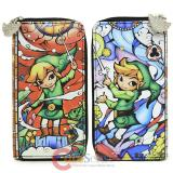Nintendo The Legend of Zelda Large Zip Around Wallet