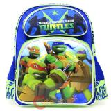 "TMNT  Ninja Turtles 14"" Medium School Backpack  Book Bag- Tough Guys"