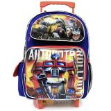 "Transformers Robots in Disguise 16"" School Roller Backpack Large Rolling Bag - Rollout"