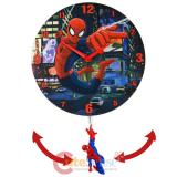 Marvel Spiderman 3D Pendulum Swing Wall Clock