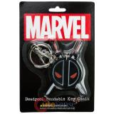 Marvel Deadpool Key Chain PVC Benable Key Holder