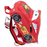 "Disney Cars Mcqueen 12"" School Backpack  Medium Bag -3D Shape"