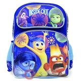 "Disney Inside Out 16"" School Backpack Large Book Bag - Emotion"