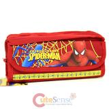 Marvel Spider Man  Pencil Case Stationery Pouch Bag - Red