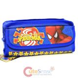 Marvel Spider Man  Pencil Case Stationery Pouch Bag - Blue