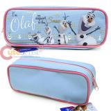 Disney Frozen Olaf  Zippered  Pencil Case Pouch Bag - Ice Blue