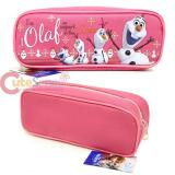 Disney Frozen Olaf  Zippered  Pencil Case Pouch Bag - Pink