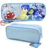 Disney Inside Out Zippered  Pencil Case Pouch Bag - Blue