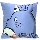 "My Neighbor Grey Totoro Cushion  with Chibi  Totoro Silk Printing 15"" Pillow"