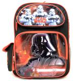Star Wars Darth Vade Large  School Backpack 16in Book Bag with Stom Tropper