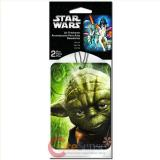 Star Wars Yoda  2pc Car Auto Hanging Air Freshener