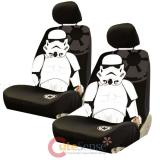 Star Wars  Storm Trooper  Front Car Seat Cover 4pc Set-Low  Back Seat