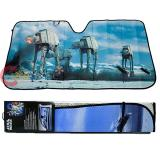 Star Wars Battle of Hoth Scene   Front Window Sun Shade Windshield